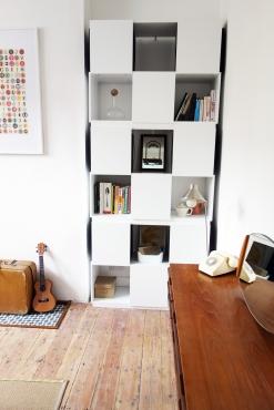 Living room cube unit